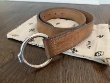 Good Art Hlywd X Ship John Bull Ring Belt Leather And Sterling Silver 32