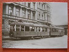 AK Ansichtskarte Postkarte Straßenbahn BVG Berlin Verbundzug 2x Triebwagen TM33