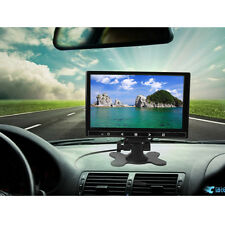 7'' TFT LCD 2 Video Input 800*480 Color DVD VCR Headrest Car Rearview Monitor