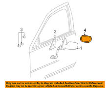 Cadillac Seville Outside Front LH Driver Side Door Mirror Glass new OEM 88891651