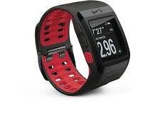 Genuine Nike Sport Watch GPS Powered by TomTom Anthracite/red Pod Foot Sensor