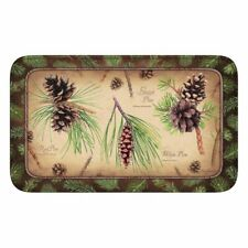 Memory Foam Mat Pine Cones 31.5x 20 By Rivers Edge Products