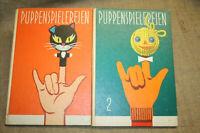 Puppenspiele Kindergarten Werken Papierarbeiten Basteln Puppentheater DDR 1977