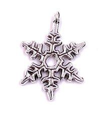 Fiocchi di Neve Eis Eisflocke Charm Ciondolo Collana Artigianato Forniture