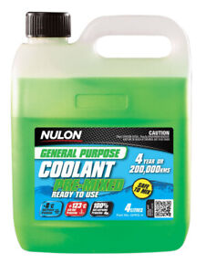 Nulon General Purpose Coolant Premix - Green GPPG-4 fits Skoda Fabia 1.0 (6Y)...