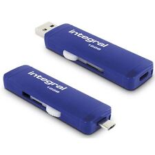 INTEGRAL 16gb Slide OTG memoria flash USB 3.0 para Android, PC & macs