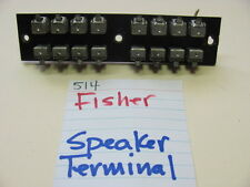 FISHER 514 QUAD STEREO RECEIVER SPEAKER TERMINAL