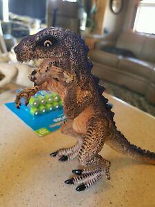 "1998 Baby Godzilla Figure Trendmasters Toho 6"" Toy Tyrannosaurus Rex Dinosaur"