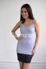 Maglie e camicie da donna camicetta grigi in misto cotone