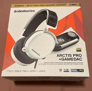SteelSeries Arctis Pro + GameDAC Wired Headset - Ps5/Ps4/PC - Hi•Res Audio *NEW*