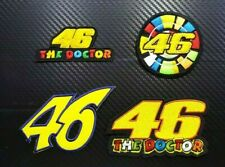 THE DOCTOR 46 RACING MOTORCYCLE SPORTS BADGE Embroidered Patch Iron On Sew Logo