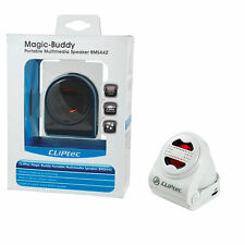 CLiPtec® Mini Magic-Buddy 2nd Generation Capsule iPod/MP3 Speaker - White