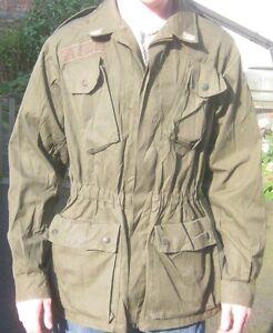 Italian Army Field Jacket Lightweight Coat Genuine Italy Green Military Surplus