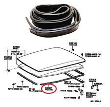 Side + Rear Roof Turret Rubber Drip For Toyota Land Cruiser BJ45 FJ45 HJ45 HJ47