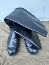 Soviet russian chrome officer army boots size 40 Ш wide (255)