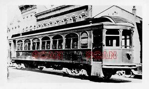 1F512 RP 1932 LOUISVILLE & INTERURBAN RAILWAY CAR #120 SHELBYVILLE KY