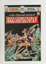 Warlord #1 - Mike Grell Cover & Story - (Grade 8.0) 1976