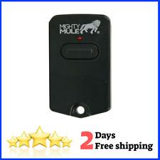 NEW Mighty Mule Single Button Gate Opener Remote Black//Camo Desert Digital