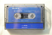 Sony Mirror Cassette Test Tape MC-112C cassette path checker