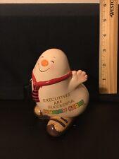 Enesco Vintage Human Bean Figurine Executives Are Successful Human Beans