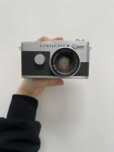 Olympus Pen FT 35mm half frame SLR camera w/ Zuiko 38mm f/1.8 lens