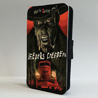 Jeepers Creeper Horror Movie LEATHER FLIP PHONE CASE COVER fits IPHONE & SAMSUNG