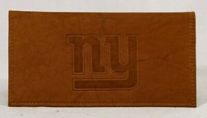 New York Giants NFL Embossed Checkbook Cover FREE US SHIPPING