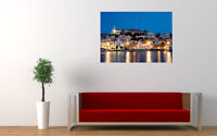 "IBIZA AT NIGHT NEW GIANT LARGE ART PRINT POSTER PICTURE WALL 33.1""x23.4"""