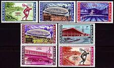 Umm al Qiwain 1964 ** Mi.19/25 A Olympische Spiele Olympic Games Stadion