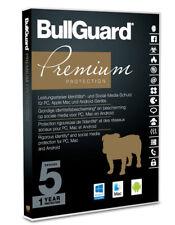 BullGuard Premium Protection 2018 - 5 Geräte 1 Jahr Multidevice Ein Mac Android