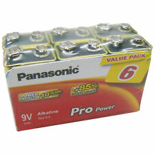 PANASONIC 245906 9 Volt Batterie Alkaline 6 Stück