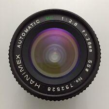 Obiettivo 28mm F2.8-16 Attacco Minolta MC