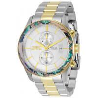 Invicta Men's Watch Specialty Quartz Chronograph White Dial Bracelet 34061