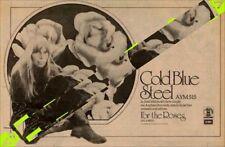 Joni Mitchell Cold Blue Steel Assylum Rec. '45 Advert MM-VBDA