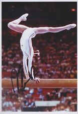 NADIA COMANECI 1 Turnen Olympia 13x18 signiert IN PERSON Autogramm signed RAR