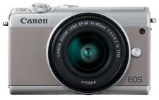 Canon EOS M100 inkl. EF-M 15-45mm 1: 3,5-6,3 IS STM grau