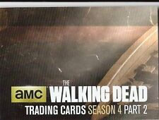 The Walking Dead Trading Cards Season 4 Part 2 Chase Card Z7 For Puzzle
