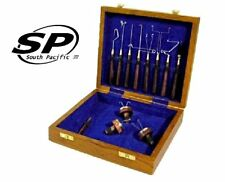 South Pacific Fly Fishing Wooden Tying Tools Kit - for fly rods lines reels