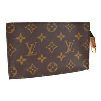 LOUIS VUITTON BUCKET PM PURSE ATTACHED POUCH BAG MONOGRAM VI0040 A54320