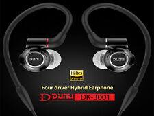 DUNU DK-3001 3BA + 1 Dynamic Driver Hybrid Audiophile In-ear Earphone IEMs