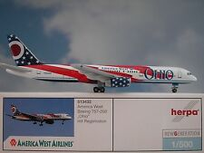 Herpa Second Hand Ali 1:500 Boeing 757-200 America West 51343 Modellairport500