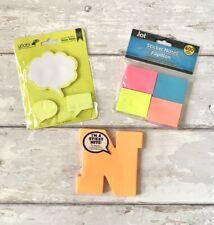 Post It Notes Sticky Tabs Neon Bundle Yoobi Jot