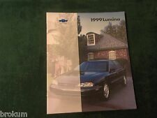 MINT 1999 ORIGINAL CHEVROLET LUMINA CAR DEALER SALES BROCHURE NEW (BOX 434)