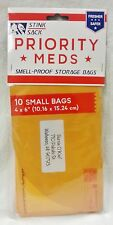 "10 Pack 4"" x 6"" Stink Sack Smell Proof Bags priority Tobacco Storage Free Ship"
