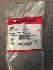Wiremold 1/2-Inch Galvanized STL Box Connector 5781