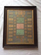 More details for vintage collection of framed 1950's / 60's british rail train ticket stubs
