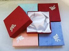 1 SET 5 ASSORTED COLOR GIFT BOXES FIT LADIES WATCHES+BRACELETS+NECKLACES