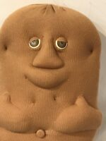 "Coleco Couch Potato Sack Plush 14"" Stuffed Animal 1987 Vintage Doll"