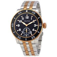 Nautica Black Dial Mens Watch NAPHST004