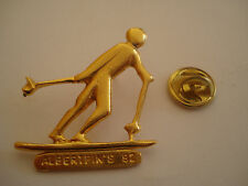 PINS RARE SKI DE FOND ALBERTPIN'S ALBERVILLE JEUX OLYMPIQUES 92